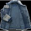 SASHIKO KENDO denim coat - Jacket - coats -