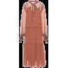 SEE BY CHLOÉ Cotton and silk dress - Haljine -