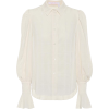 SEE BY CHLOÉ Cream flared-sleeve blouse - Long sleeves shirts -