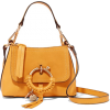 SEE BY CHLOÉ Joan mini textured-leather - Сумочки -