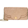 SEE BY CHLOÉ Polina Glitter Chain Wallet - Wallets -