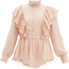 SEE BY CHLOÉ Ruffled georgette blouse - Long sleeves shirts -