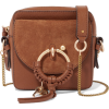 SEE BY CHLOÉ Square textured-leather and - Bolsas pequenas -