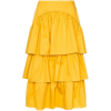 SEE BY CHLOÉ tiered cotton midi skirt - Gonne -