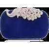 SEKUSA Diamond Shoulder Purse - Clutch bags - $55.00