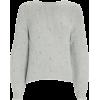 SELF-PORTRAIT Diamante Crewneck Sweater - Puloveri -