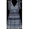 SELF-PORTRAIT Floral lace minidress - Vestidos -