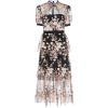SELF PORTRAIT floral embroidered dress - Dresses -