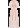 SELF-PORTRAIT lace-trimmed pleated-tier - Vestiti -