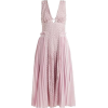 SELF PORTRAIT pink pleated dress - Haljine -