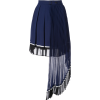 SELF-PORTRAIT pleated panel skirt - Saias - $384.00  ~ 329.81€