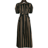 SELF-PORTRAIT tailored striped dress - Dresses -