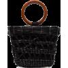 SENSI STUDIO Totora straw tote bag - Torbice -