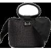 SENSI STUDIO straw basket bag - Bolsas pequenas -