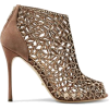 SERGIO ROSSI Royal Strass crystal-embell - ブーツ - $778.00  ~ ¥87,563