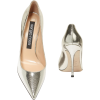 SERGIO ROSSI Godiva Cracked Leather Pump - Classic shoes & Pumps -