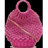 SERPUI Lara crochet basket bag - Hand bag -