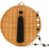 SERPUI Maya round wicker bag - Borsette -