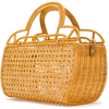 SERPUI straw tote bag - Hand bag -