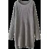 SHAWHUWA long sweater dress - sukienki -