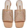 SHIMMERY LEATHER MULES - Sandals - 49.95€  ~ $58.16