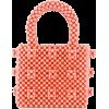 SHRIMPS embellished beaded tote - Kleine Taschen -