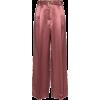 SIES MARJAN blanche satin trousers - Skirts -