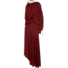 SIES MARJAN red satin jersey dress - Dresses -