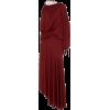SIES MARJAN red satin jersey dress - Vestiti -