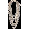 SILVIA GNECCHI layered chain necklace - Necklaces -