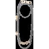 SILVIA GNECCHI two tone chain link neckl - Halsketten -