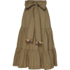 SILVIA TCHERASSI neutral cotton skirt - Krila -