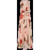 SILVIA TCHERASSI pink floral silk dress - Vestiti -