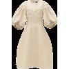 SIMONE ROCHA Puff-sleeve floral-brocade - sukienki -