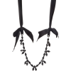 SIMONE ROCHA black necklace - Necklaces -