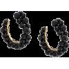 SIMONE ROCHA embellished hoop earrings - Uhani -