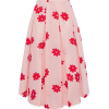 SIMONE ROCHA pink red floral skirt - Gonne -
