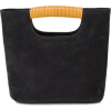 SIMON MILLER Black Birch Mini Suede Tote - Carteras -