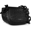 SIMON MILLER S821 Black Embossed Alligat - Messenger bags -