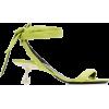 SIMON MILLER  lime heel sandal - Sandals -