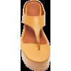 SIMON MILLER orange platform sandal - Sandals -