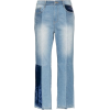 SJYP velvet patch tomboy jeans - Capri & Cropped - 492.00€  ~ $572.84