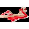 SOLUDOS red vichy espadrilles - Flats -