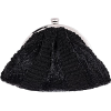 SONNET Black Embroidered Clutch - Сумки c застежкой - $100.00  ~ 85.89€