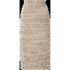 SOONIL Tweed Midi Pencil Skirt - Gonne -