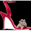 SOPHIA WEBSTER Lilico crystal-embellishe - サンダル -