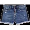 SPARKLY SIDE STRIPE SHORTS Z1975 - Shorts - $39.90