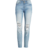 SP Black Ripped Knee Skinny Jeans - Jeans -