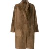 SPRUNG FRÈRES oversized mid-length coat - Giacce e capotti -
