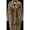 STAND leopard faux fur coat - アウター -